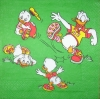 0176 Donald Duck Serviette