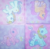 1220 My little Pony Serviette