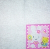 1222 Hello Kitty Kiddy´s Dream Serviette