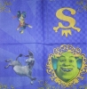 1594 Shrek Serviette