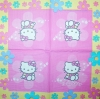 1741 Hello Kitty Serviette