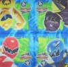 1830 Power Rangers Dino Thunder Serviette
