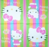 1999 Hello Kitty Birthday Serviette