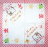 2073 Hello Kitty Christmas Serviette