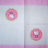 2076 Hello Kitty Serviette