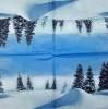 2699 Winterlandschaft Serviette