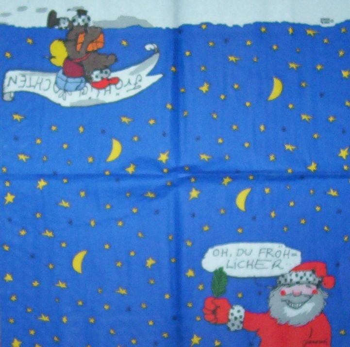 2921 janosch weihnachten serviette. Black Bedroom Furniture Sets. Home Design Ideas