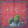 2947 Shrek Serviette