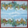 3169 Winterlandschaft Serviette