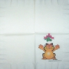 3774 Garfield Christmas Serviette