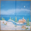 4926 Winterlandschaft Serviette