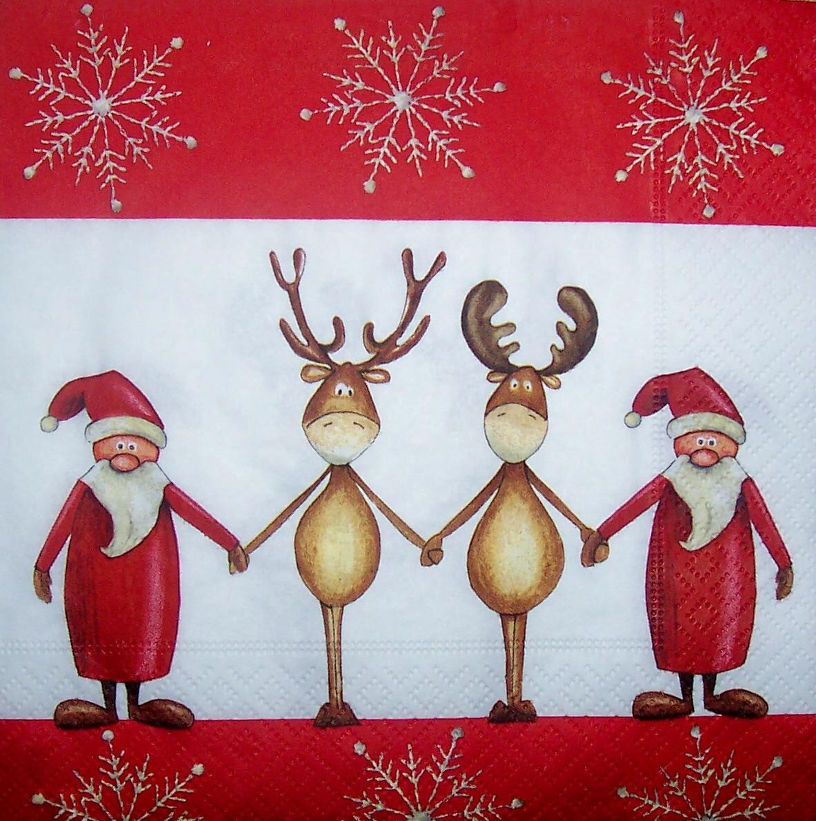 5063 weihnachten serviette. Black Bedroom Furniture Sets. Home Design Ideas