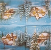 5071 Winterlandschaft Serviette