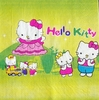 6165 Hello Kitty Serviette