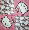 8205 Hello Kitty Serviette