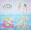 0155 Disney Fairies Tinkerbell Serviette