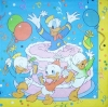 0197 Donald Duck Serviette