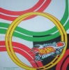 0223 Hot Wheels Rennwagen Race Serviette