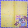 0285 Looney Tunes Taz Birthday Serviette