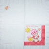 0320 Emily Erdbeer Strawberry Shortcake Serviette