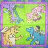 0433 Dragon Tales Serviette