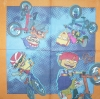 0458 Team Rocket Power Serviette