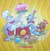 0504 Looney Tunes Tom & Jerry Serviette