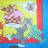 0505 Looney Tunes Tom & Jerry Birthday Serviette