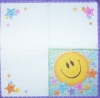 0547 Smiley Serviette
