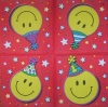 0548 Smiley Serviette