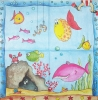 0661 Vielseidig Big Fish Serviette
