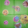 0750 Littlest Pet Shop Serviette