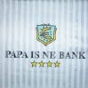 0806 Papa is ne Bank Serviette