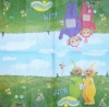 0851 Teletubbies Serviette