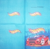 0879 Hot Wheels Serviette