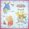 0899 Richard Scarry´s Busytown Serviette