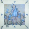 0944 Flower Fairies Blaustern Serviette