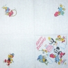 0951 Woody Woodpecker Birthday Serviette