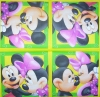1014 Mickey und Minnie Serviette