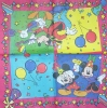 1051 Mickey und Minnie Serviette