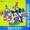 1056 Mickey Minnie Donald Daisy Goofy Serviette