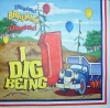 1069 Lastwagen LKW Birthday Serviette