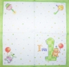 1240 Baby Birthday Serviette