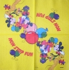 1291 Mickey und Minnie Serviette