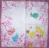 1327 Disney Princess Serviette