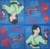 1351 Disney Princess Mulan Serviette