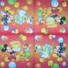 1356 Mickey und Donald Serviette