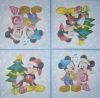 1481 Mickey und Minnie Serviette