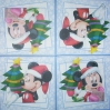 1550 Mickey und Minnie Serviette