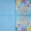 1612 Disney Princess Serviette